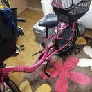 子供前乗せ自転車