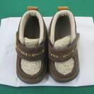 (I-1002) 子供靴 miki house 冬用 12.5cm...