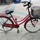 【整備済】26インチ 前後タイヤ新品 自転車