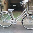 買ったばかりの自転車 27インチ