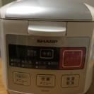 シャープ ジャー炊飯器