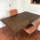 テーブルと椅子をただで