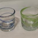 琉球ガラス 色違いペアグラス