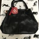 「新品」2way bag ブラック 沢山入ります!