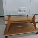 ガラストップだ円テーブル(2907-36)