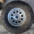未使用ジープ用タイヤ&ホイール・スペア用(1本)