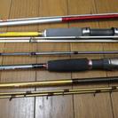 船釣用竿 カワハギ竿2 シロギス竿1 メバル竿1