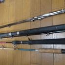 船釣用竿 自作30-210クラス グラス、タイテンヤ、ショートロッ...