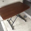 昇降式 『 リフトテーブル・ダイニングテーブル 』 高さ調整自由
