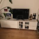 テレビボード 白(8月上旬まで自宅までの引き取り希望)