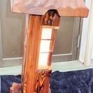 和の空間作りに最適 灯篭風照明◆お部屋がまるで日本庭園のよう…