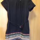【ZARA】ボヘミアン刺繍ワンピース 164cm