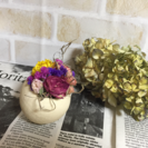 お花のコロコロアレンジメント