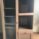 訳あり家具 北欧風 カップボード 食器棚 ジャンク