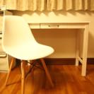 テーブル+椅子 2016年購入 可愛い白セット