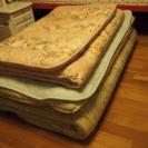 敷布団セミダブル(2016年産)、シングル二枚で出品急ぎ