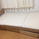 シングルベッド 無料で譲ります!