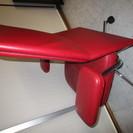 【事務用・什器】高級革張り-椅子(チェアー)■赤■¥25,000-■
