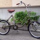 20インチ カーキー 自転車
