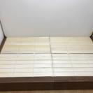 定価5万円 無印収納ベッド セミダブル マットレス付き