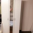 美品 今月まで‼︎鏡面仕上げ シューズクローゼット 収納クローゼット