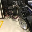 浦安から 軽整備済 丸石 フラッカーズ プレミアム 子供乗せ自転車