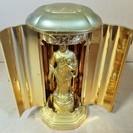 優しい目で家庭を守ってくれる仏像 立像 置物 神仏具 お部屋の和風...