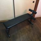 トレーニングベンチ兼腹筋台