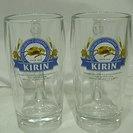 キリンビアグラス ペア&ガラス小皿5枚・ガラス小物入れセット