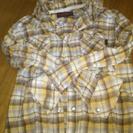 COMME CA ISMの姉妹店PURPLE&Yellow男児長袖シャツ