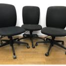 昇降式の事務用椅子3脚セット
