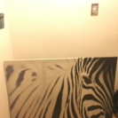 シマウマのアートパネル IKEA