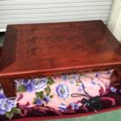 家具調こたつ 継脚付 座卓テーブル120cmX80cm