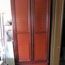 ワードローブ 洋服タンス/クローゼット 高さ195cm×幅83.5...