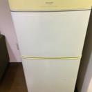sharp 2ドア 冷蔵庫 140L