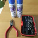 工具 ペンチ サビ取りスプレー