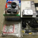 FinePixデジタルカメラと水中ハウジングのセット