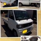 実用的☆ミニキャブトラック☆MT,4WD☆車検29年9月まで!