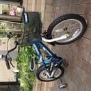 子供用自転車16インチ 補助輪付き