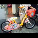子供用、16インチ、アンパンマン自転車