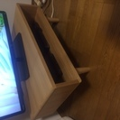 美品!ベルメゾン天然木テレビボード