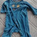 ベビー服 サイズ60-70 男の子 星柄 青