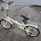 折りたたみ自転車5段切り替え 美品