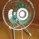 古い 小型扇風機