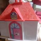 おもちゃ箱 ハウス型 収納家具