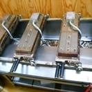 電気たい焼き機 3連 業務用