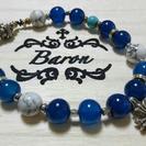 フレアークロス&ブルーアパタイトブレス