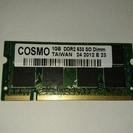 ノートパソコン用メモリー DDR2 633