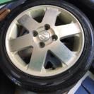 スズキ純正アルミホイール&タイヤ 4本セット