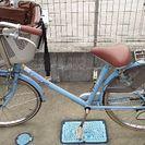 交渉中  子供乗せ自転車  丸石自転車 フラッカーズママ